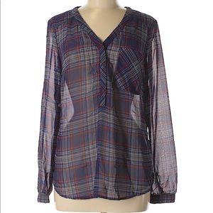Merona long sleeve blouse